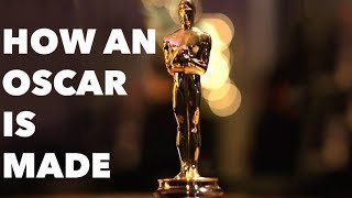 How An Oscar Statue Is Made: Behind The Scenes!