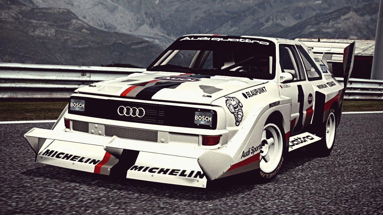 GT6 Audi Sport quattro S1 Pikes Peak 87  Exhaust Video  YouTube
