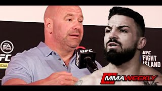 Dana White Reacts To Mike Perry Bar Fight: \