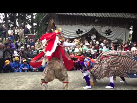 「富山獅子舞100選」伏木一宮獅子舞