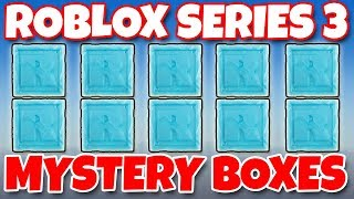 ROBLOX SERIES 3 Blue Mystery Boxes BLIND BOX OPENING Toy Review | Trusty Toy Channel