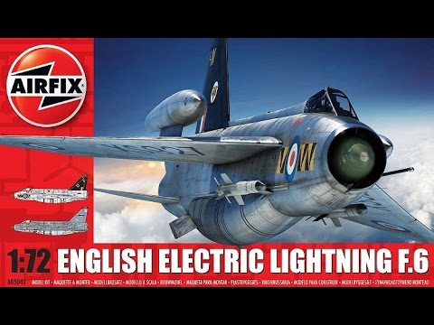 Airfix English Electric Lightning F.6 1/72 Scale | The Inner Nerd