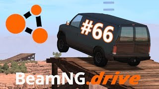 BeamNG.drive (#66) - SKOKI VANEM NA WYSOKOŚCI ORAZ TRUDNE PARKOWANIE