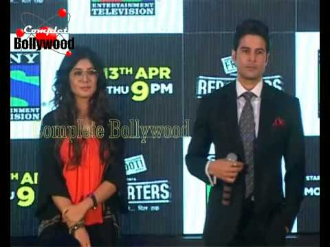 Rajeev Khandelwal, Kritika Kamra at Sony TV PC for New Show 'Reporters'