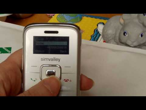 Simvalley Cell Phone Instructions.AVI