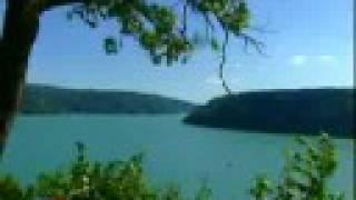 lac de vouglans - le village englouti