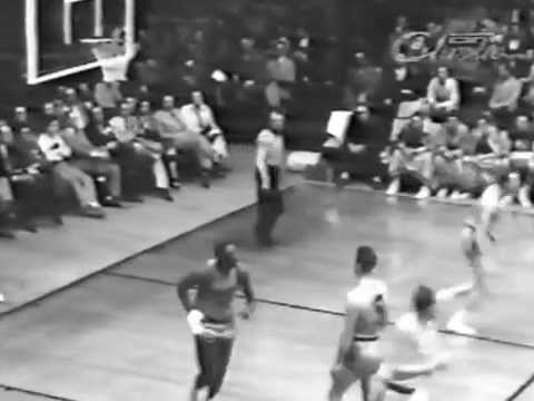 MINNEAPOLIS LAKERS vs SYRACUSE NATIONALS NBA FINALS G1 - 1954