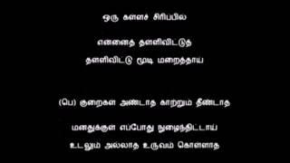 kankal irandaal/tamil karaoke/கண்கள் இரண்டால்