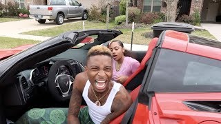 SUPRISING BOYFRIEND WITH NEW CAR PRANK FT PERFECTLAUGHS (HE CRIED)