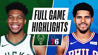 GAME RECAP: Bucks 109, 76ers 105