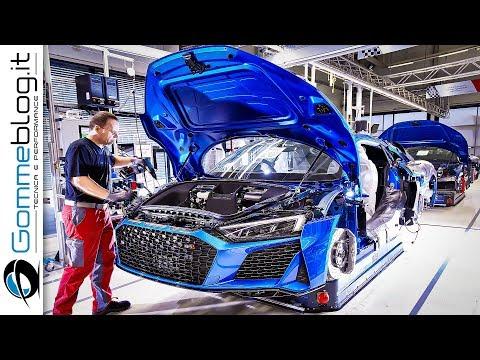 2020 Audi R8 - PRODUCTION - (German Car Factory)