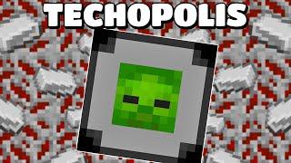 MOB ABSORBER, MINER TIER 2 & IRON! Techopolis EP5 | Modded Minecraft 1.16