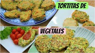 Tortitas de vegetales rápidas y deliciosas