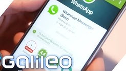 Ist der WhatsApp Video-Call besser als Skype? | Galileo Lunch Break