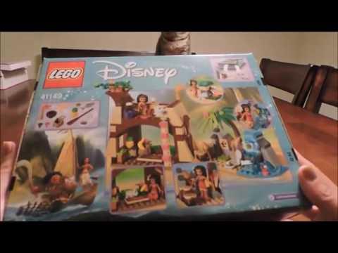 Disney Moana Lego Island Adventure 41149 OPENING - YouTube