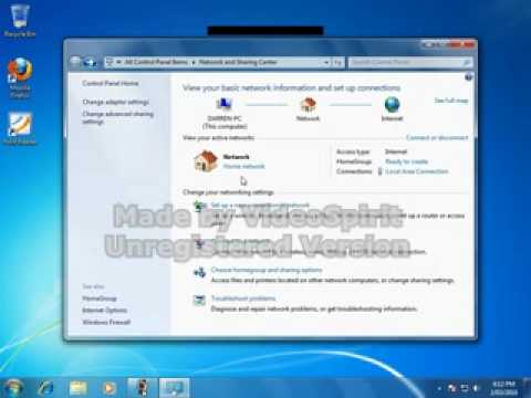 networking with Windows 7 and NAS