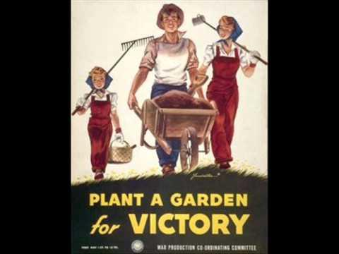 Victory Garden Radio Announcement WWII 1943