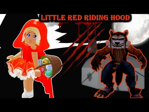 LITTLE RED RIDING HOOD THE HORROR STORY!! -ROYALE HIGH
