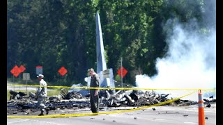 Here's what we know about the military plane crash outside Savannah