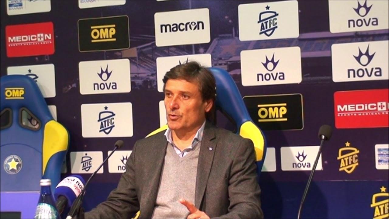 Νίκος Καραγεωργίου Προπονητής Λεβαδειακού