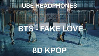 BTS - FAKE LOVE | 8D KPOP Resimi