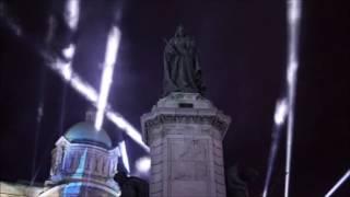 Made in Hull 2017 - Simulated Air Raid, WWII Blitz Scene
