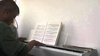 J.S.バッハ 平均律ピアノ曲集  第2巻 ハ単調プレリュード