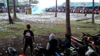 Detik-detik Serangan Mercon Petasan !!! Komunitas Ngapak nang Pantai Widarapayung