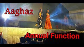 Aaghaz ramp walk of student's (only girls) chouksey engineering college