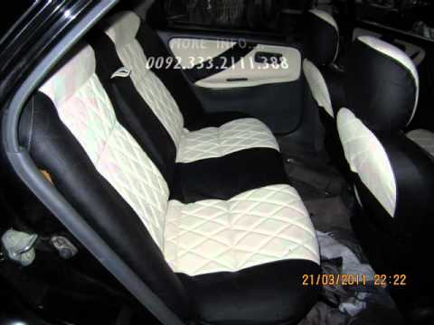 honda civic 94 dolphen black white interior youtube. Black Bedroom Furniture Sets. Home Design Ideas