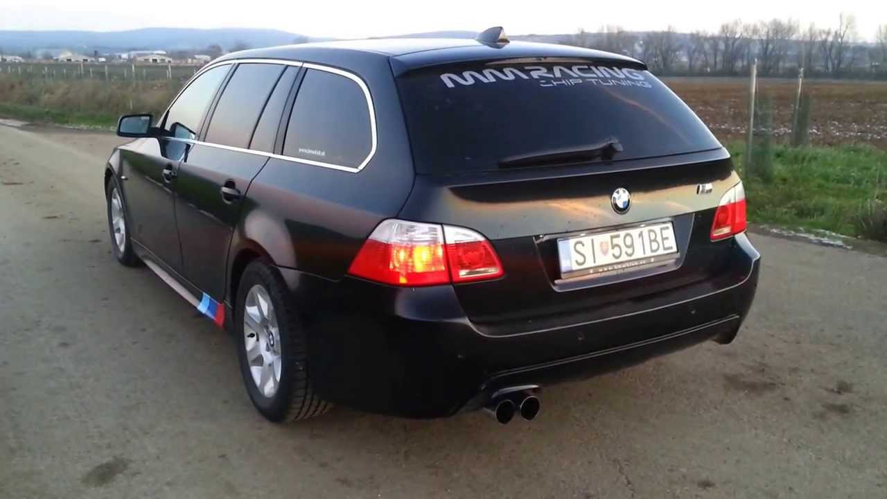bmw e61 530d eisenmann youtube. Black Bedroom Furniture Sets. Home Design Ideas