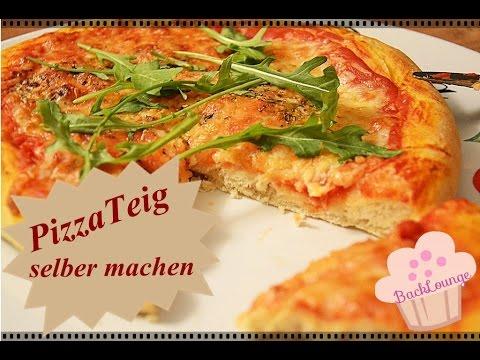 DIY Pizzateig Rezept / Pizza Schnell & Einfach Selber Backen / Back Lounge Rezepte 2015
