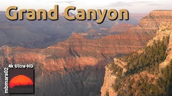 [4k] Grand Canyon, Exploring the South Rim, Grand Canyon Village, AZ, 06/02/2017