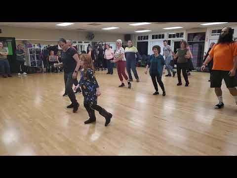 Madilynn Dancing Yoya With The Israeli Folk Dancers In San Diego, CA At Raphael Gottesman's Class