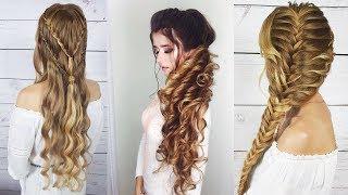 Топ прическа на выпускной/ Прически на длинные волосы 🌹Прически своими руками🌹Prom hairstyles