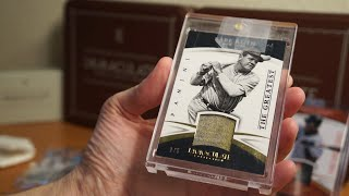 Mailday! MASSIVE Babe Ruth Relic #1/5 plus 8 card Immaculate LOT