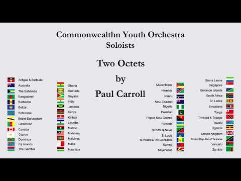 Commonwealth Youth Orchestra Soloists  Two Octets Octet 1 mvmt 1 Allegro Brauva