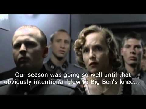 Hitler Reacts to Josh Scobee & Raven loss (10/1/2015)