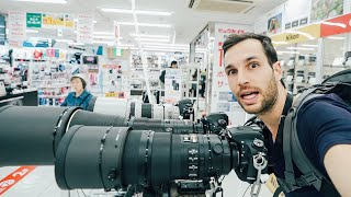 Inside A CAMERA SHOP in JAPAN - Cheaper Prices Or Not?!