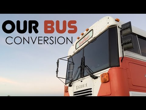 School Bus Converted to Amazing RV | Big Family Small Space | The Bus Life