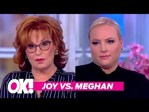 'Hissy Fit!' Joy Behar & Meghan McCain's Best Fights On 'The View'