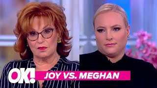 'Hissy Fit!' Joy Behar & Meghan McCain's Best Fights On 'The View'