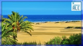 Gran Canaria Las Palmas, Isole Canarie Documentario HD: Playa del Ingles, spiagge e vita notturna
