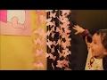 DIY/Easy baby shower decor/ Pink Chandelier/ for baby girl /Tumblr inspired