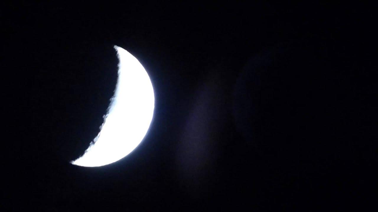 Luna cuarto menguante con la panasonic dmc f72 youtube for Cuarto menguante de la luna