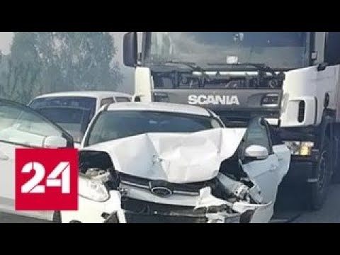 Жительница Барнаула погибла под фурой, спасая своих детей - Россия 24