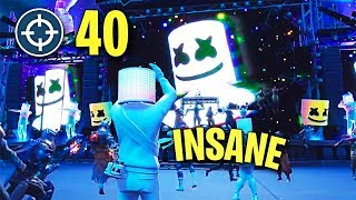 So I Dropped a 40 Bomb at the Marshmello Event