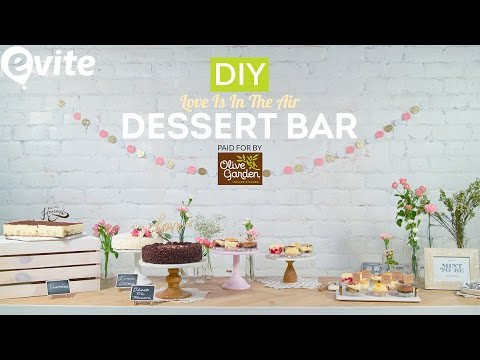 DIY Dessert Bar | Style Ideas For Weddings 2017 🍰