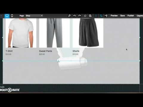 How to: create and maintain an online store using Wix