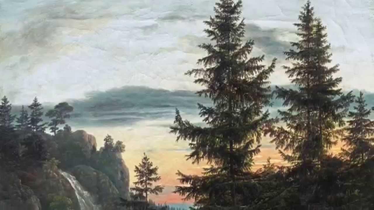 Landschaftsmalerei romantik friedrich  Dahl und Friedrich. Romantische Landschaften - YouTube